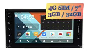 Штатная магнитола Toyota (Universal) Wide Media KS6901-QR-3/32 (Av out) на Android 10.0