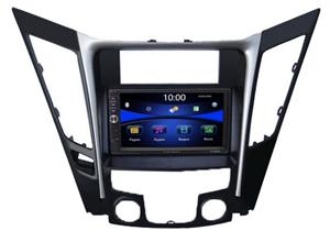 Магнитола в штатное место Hyundai Sonata VI (YF) 2009-2014 LUX Wide Media DV-JM7132