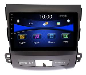 Штатная магнитола Mitsubishi Outlander XL 2006-2012 Wide Media DV-JM9029 (для авто без Rockford)
