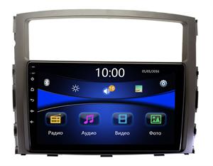 Штатная магнитола Mitsubishi Pajero IV 2006-2019 Wide Media DV-JM9069 (для авто без Rockford)