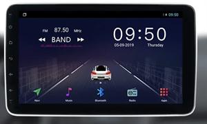 2 DIN универсальная магнитола CarMedia OL-1007-S9 на Android 8.1
