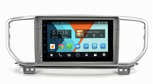 Штатная магнитола Kia Sportage IV 2018-2021 Wide Media MT9085PK-2/16 DSP 3G-SIM на Android 9.0 (для авто без камеры)