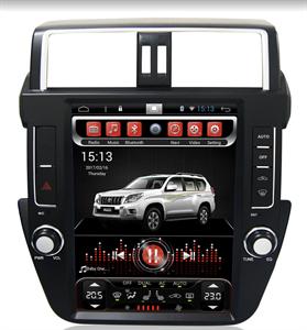 CarMedia SP-12104-S9 для Toyota Land Cruiser Prado 150 2013-2017 на Android 8.1