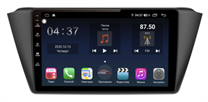 Farcar TG2002R (S400) с DSP + 4G SIM для Skoda Fabia III 2014-2018 на Android 10.0