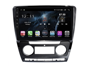 Farcar TG005R (S400) с DSP + 4G SIM для Skoda Octavia II (A5) 2004-2013 на Android 10.0