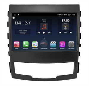 Farcar TG159R (S400) с DSP + 4G SIM для SsangYong Actyon, Korando 2010-2013 на Android 10.0