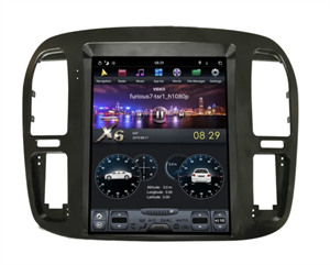 CarMedia ZF-1268-DSP Tesla-Style для Toyota Land Cruiser 100 1992-2002 на Android 9.0