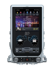 CarMedia ZF-1807H-DSP Tesla-Style для Toyota Land Cruiser 200 2015-2018 на Android 9.0