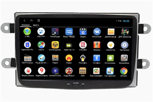 Parafar PF157XHD для Renault Duster, Sandero, Kaptur, Logan 2012-2020 на Android 9.0