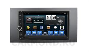 Штатная магнитола CarMedia (KR-7141-RFO-N07) для Ford Focus 2, C-max, Fusion, Fiesta 2005-2012 на Android 9.0