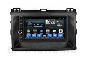 Штатная магнитола CarMedia (KR-7141-RTY-N05) для Toyota Land Cruiser Prado 2002 - 2009 на Android 9.0