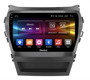 CarMedia OL-9703-2D-S9 для Hyundai Santa Fe III 2012-2017 на Android 8.1