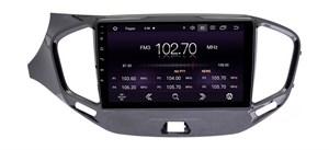 CarMedia OL-9061-2D-P6-H TESLA для Lada Vesta 2015-2021 на Android 9.0