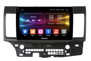 CarMedia OL-1632-2D-P6-H TESLA для Mitsubishi Lancer 2007-2017 на Android 9.0