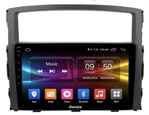 CarMedia OL-9566-2D-S9 для Mitsubishi Pajero IV 2006-2019 на Android 8.1