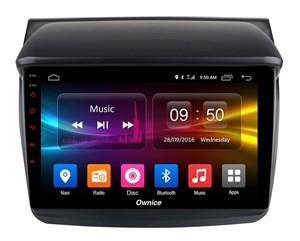 CarMedia OL-9635-1D-P6-H TESLA для Mitsubishi Pajero Sport II, L200 IV 2006-2015 на Android 9.0