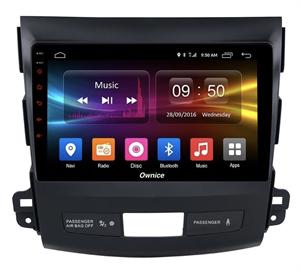 CarMedia OL-9636-2D-S9 для Peugeot 4007 2007-2012 на Android 8.1