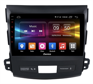 CarMedia OL-9636-2D-S9 для Mitsubishi Outlander II (XL) 2006-2012 на Android 8.1