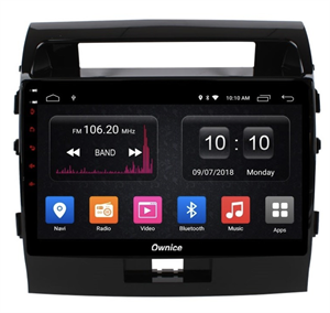 CarMedia OL-1620-2D-S9 для Toyota LC 200 2007-2015 на Android 8.1