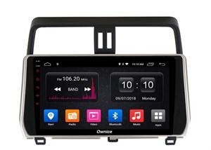 CarMedia OL-1680-2D-P6-H TESLA для Toyota LC Prado 150 2017-2019 на Android 9.0