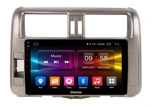CarMedia OL-9613-2D-P6-H TESLA для Toyota LC Prado 150 2009-2013 на Android 9.0