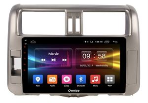 CarMedia OL-9613-2D-S9 для Toyota LC Prado 150 2009-2013 на Android 8.1