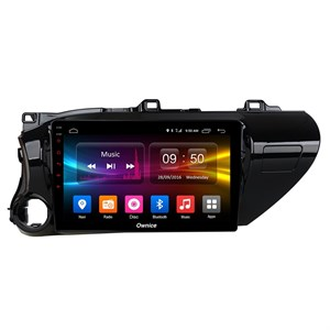 CarMedia OL-1686-2D-P6-H TESLA для Toyota Hilux VIII 2015-2018 на Android 9.0