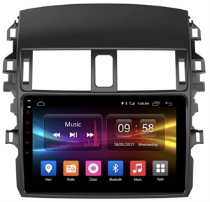 CarMedia OL-9605-2D-P6-H TESLA для Toyota Corolla X 2006-2013 на Android 9.0