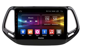 CarMedia OL-1255-2D-P6-H TESLA для Jeep Compass II 2017-2021 на Android 9.0