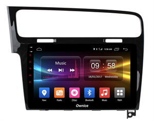 CarMedia OL-1907-2D-S9 для Volkswagen GOLF 7 2013-2019 на Android 8.1