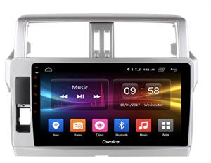 CarMedia OL-1614-2D-S9 для TOYOTA Land Cruiser Prado 150 2013-2017 на Android 8.1