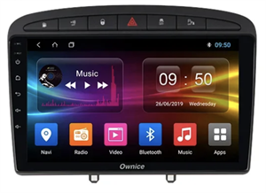 CarMedia OL-9961-2D-P5-32 для Peugeot 308 I 2007-2015, 408 2012-2017 на Android 9.0