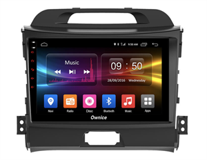 CarMedia OL-9735-2D-P6-H TESLA для KIA Sportage III 2010-2016 на Android 10.0