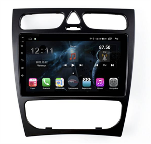 Farcar H1264R (S400) с DSP + 4G SIM для Mercedes Benz C-class (W203) 2000-2004 на Android 10.0
