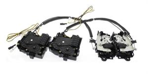 Доводчики дверей INVENTCAR SX1 для Skoda на платформе MQB (Комплект на 4 двери)