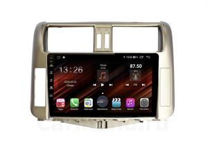 Farcar XH065R (S400) с DSP + 4G SIM (6/128ГБ) для Toyota Land Cruiser Prado 150 2009-2013 цвет бронза на Android 10.0