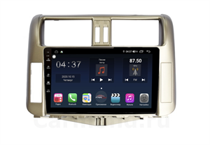 Farcar TG065R (S400) с DSP + 4G SIM для Toyota Land Cruiser Prado 150 2009-2013 (цвет бронза) на Android 10.0
