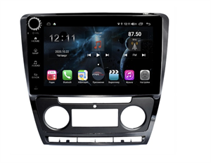 Farcar H005RB (S400) с DSP + 4G SIM для Skoda Octavia II (A5) 2004-2013 на Android 10.0 c кнопками