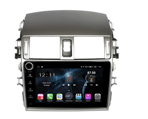 Farcar H063RB (S400) с DSP + 4G SIM для Toyota Corolla X (E140, E150) 2006-2013 на Android 10.0 с кнопками