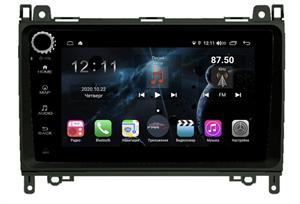 Farcar H068RB (S400) с DSP + 4G SIM для Mercedes A-klasse (W169) 2004-2012, B-klasse (W245) 2005-2011, Vito ll (W639) 2006-2014, Vito III (W447) 2014-2020, Viano ll (W639) 2006-2014, Sprinter на Android 10.0 с кнопками