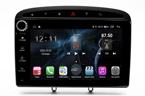 Farcar H083RB (S400) с DSP + 4G SIM для Peugeot 308 I, 408, RCZ I 2010-2017 на Android 10.0 с кнопками