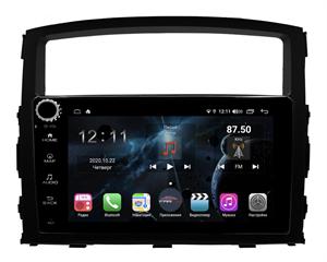 Farcar H1009RB (S400) с DSP + 4G SIM для Mitsubishi Pajero IV 2006-2019 на Android 10.0 с кнопками