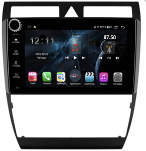Farcar H102RB (S400) с DSP + 4G SIM для Audi A6 1998-2006 на Android 10.0 с кнопками