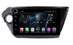 Farcar H106RB (S400) с DSP + 4G SIM для Kia Rio III 2011-2017 на Android 10.0 с кнопками