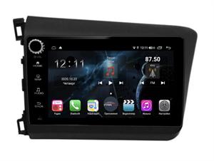Farcar H132RB (S400) с DSP + 4G SIM для Honda Civic 2012-2015 на Android 10.0 с кнопками