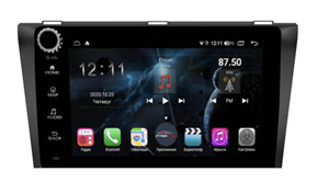 Farcar H161RB (S400) с DSP + 4G SIM для Mazda 3 2004 - 2009 на Android 10.0 с кнопками