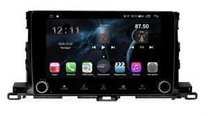 Farcar H467RB (S400) с DSP + 4G SIM для Toyota Highlander (U50) 2014-2018 на Android 10.0 c кнопками