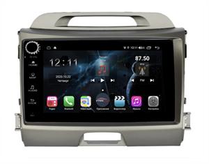 Farcar H537RB (S400) с DSP + 4G SIM для KIA Sportage III 2010-2016 на Android 10.0 c кнопками