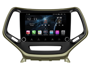 Farcar H608RB (S400) с DSP + 4G SIM для Jeep Cherokee IV (WK2) 2013-2017 на Android 10.0 c кнопками