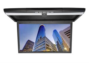 """Потолочный монитор 15.6"""" FullHD (1920x1080) с DVD/USB/SD/HDMI/AV, MirrorLink/AirPlay, сменные цветные рамки в комплекте (VOMI RF-1561)"""